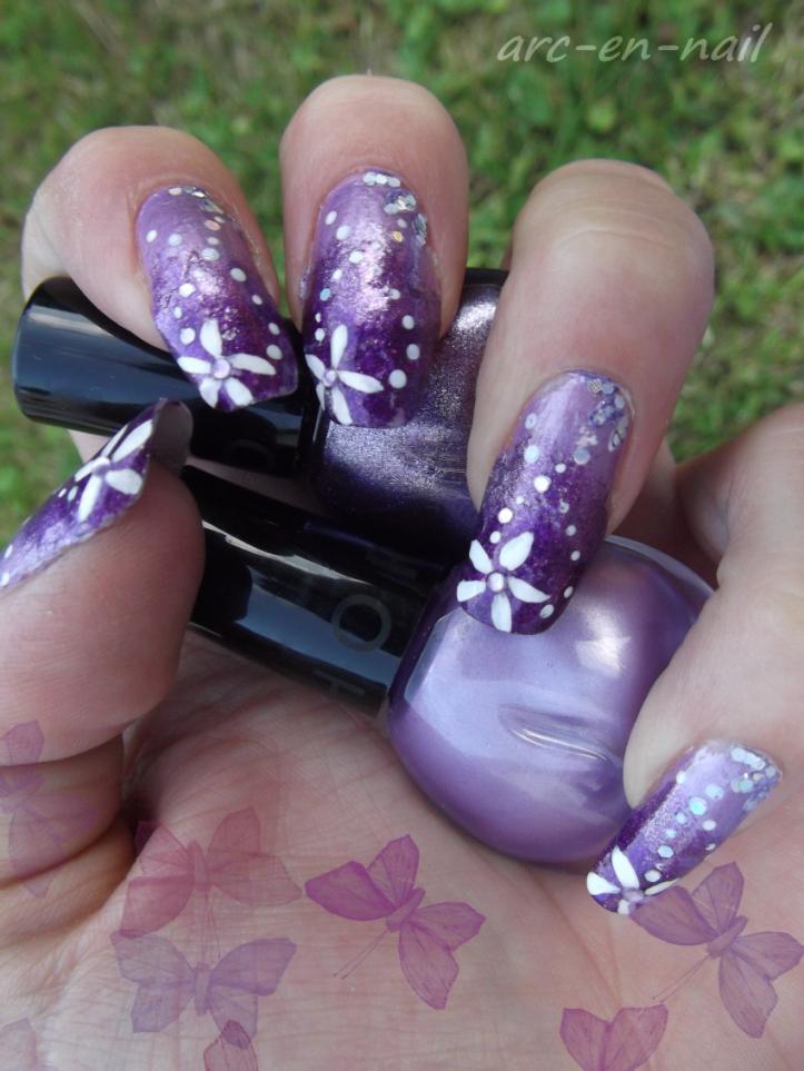 dégradé violet 1
