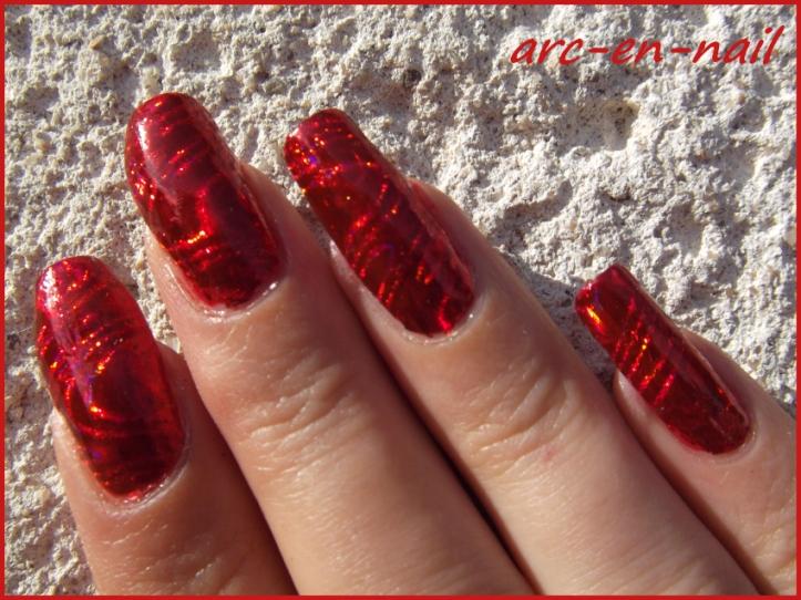 foils laser rouge 2