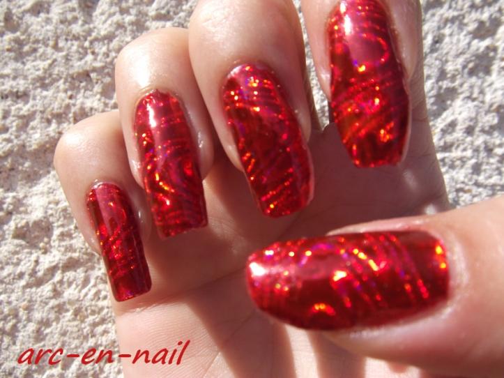 foils laser rouge 3