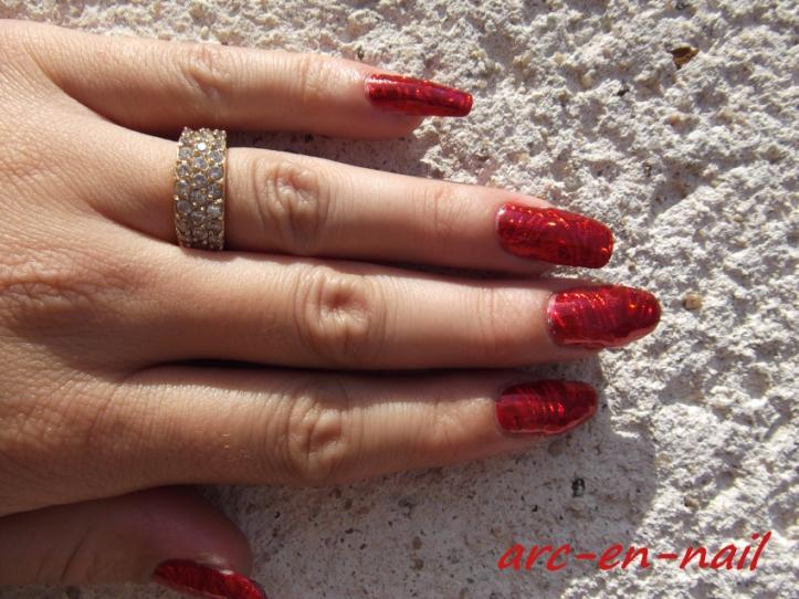 foils laser rouge 4