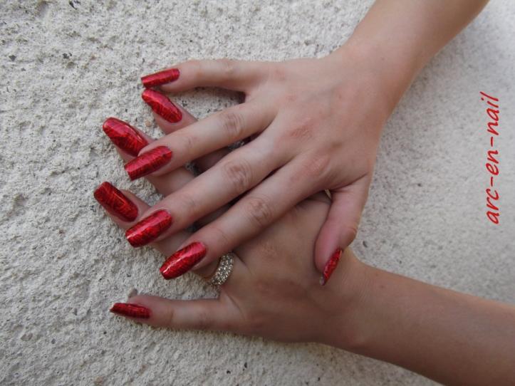 foils laser rouge 5