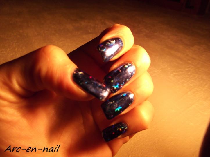 foil starburst blue 5