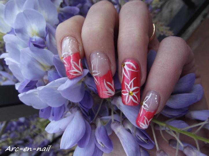 Fleurs mal faites mains 5