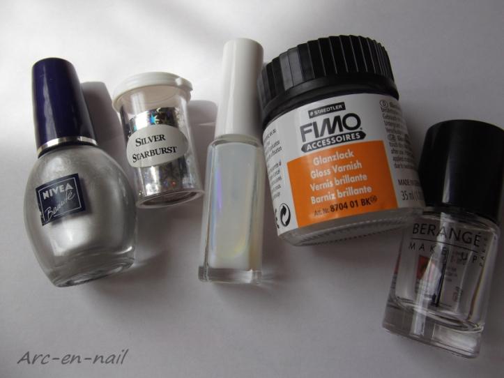FOIL Silver starburst matèriel