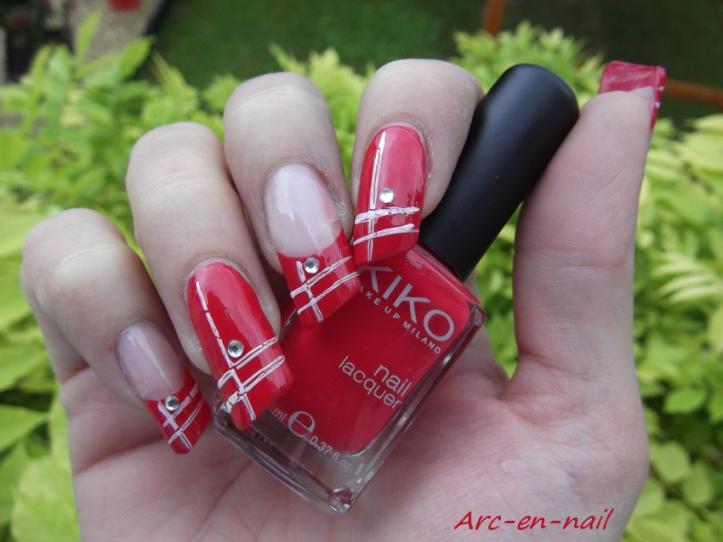 nail art asymétrique 1