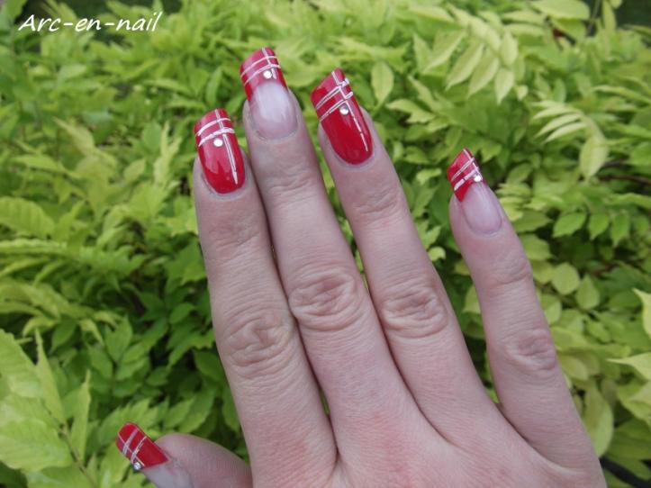 nail art asymétrique 2