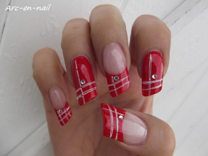 nail art asymétrique 3