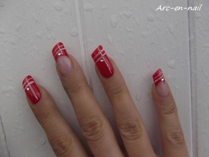 nail art asymétrique 5