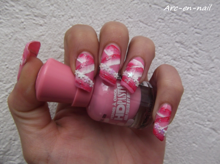 One stroke Barbie's ribbon 1