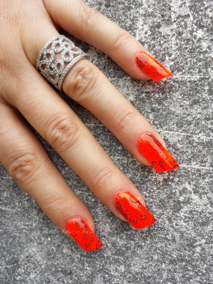 nail art I am flashy 2