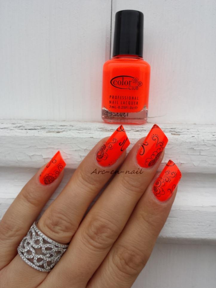 nail art I am flashy 4