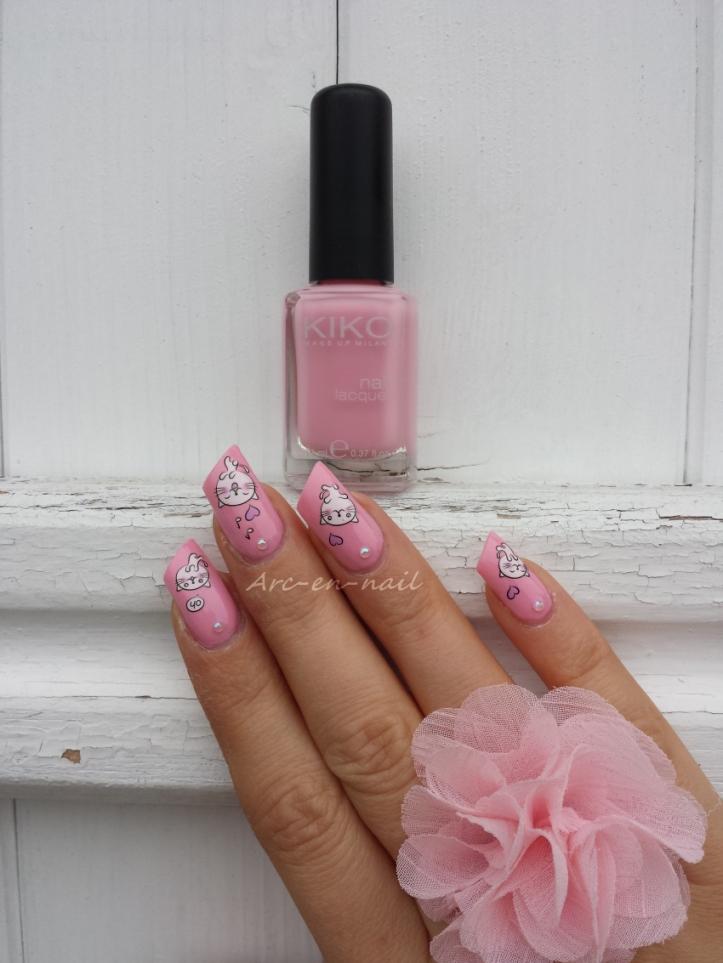 nail art Miaouhhh 1