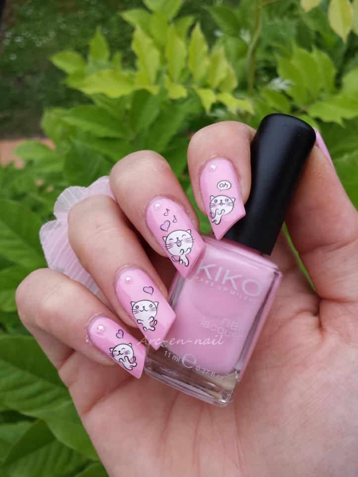 nail art Miaouhhh 2