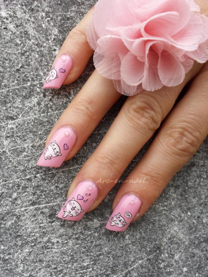 nail art Miaouhhh 3