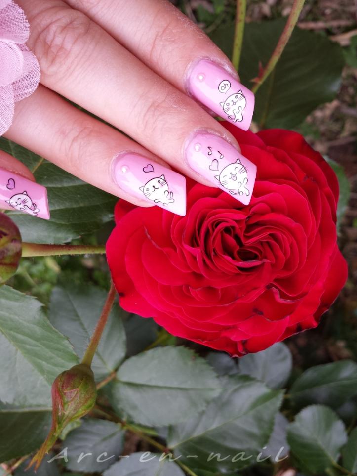 nail art Miaouhhh 4