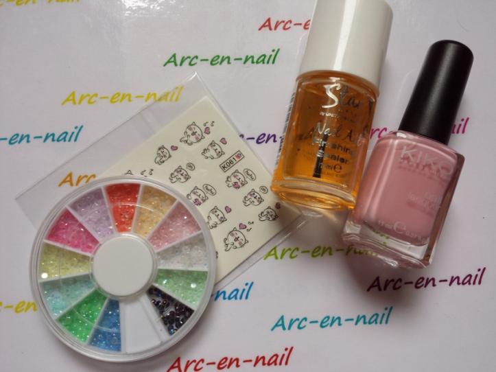 nail art Miaouhhh materiel
