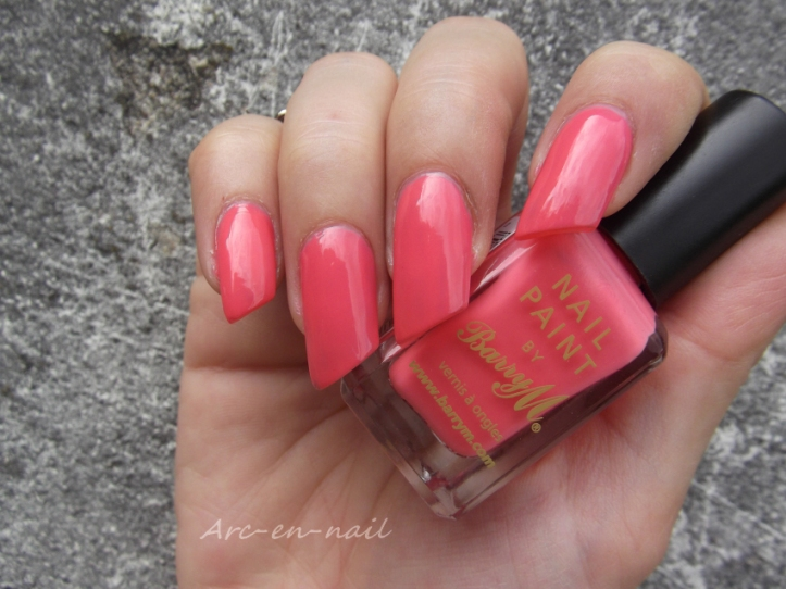 BARRY M 305 Pink flamingo 2