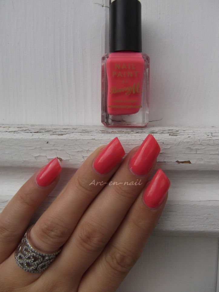 BARRY M 305 Pink flamingo 3