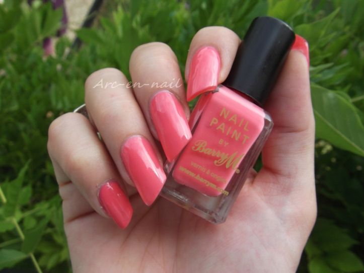 BARRY M 305 Pink flamingo 4