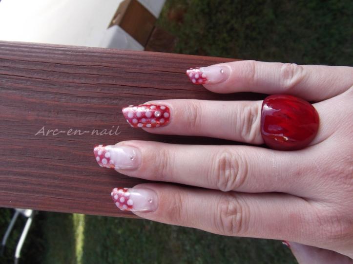 Nail art Minnie 3