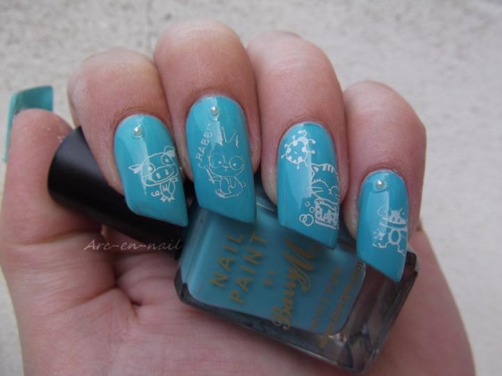 nail art Petites bestioles 2