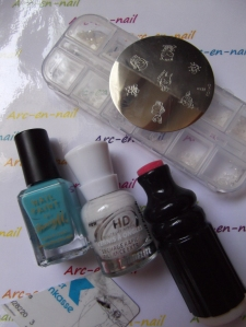 nail art Petites bestioles matèriel