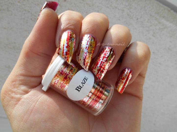 Iron nail art 1