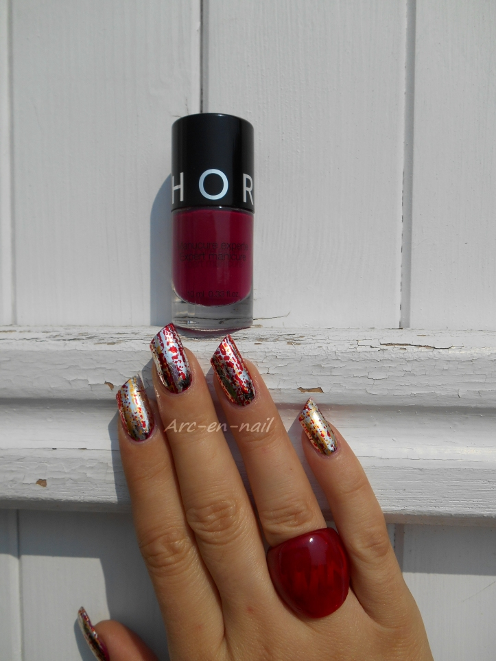 Iron nail art 2