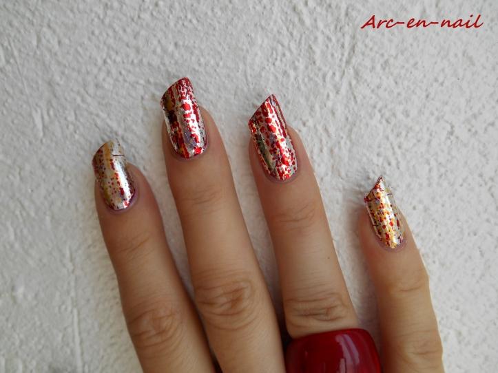 Iron nail art 4