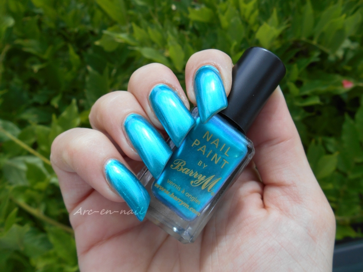 BARRY M 334 Teal 4