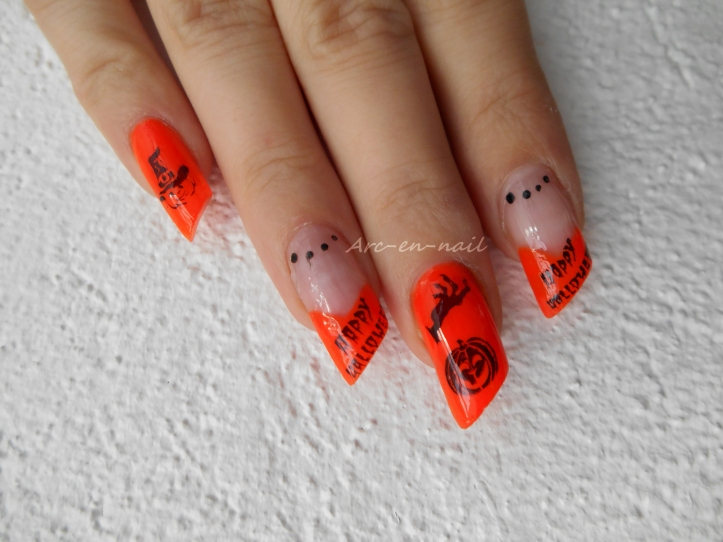 nail art Halloween 1