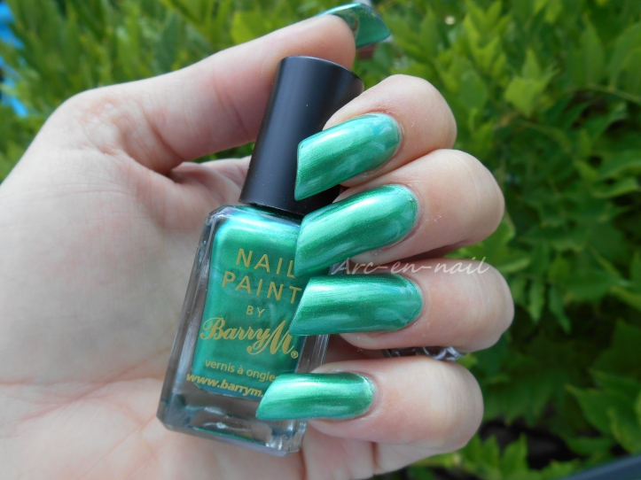 BARRY M 284 Emerald green 1