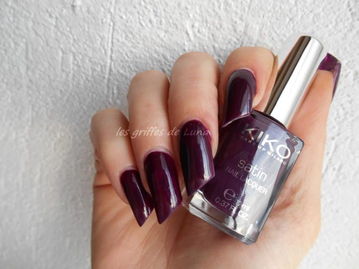 KIKO 446 Dark cherry - Satin 1