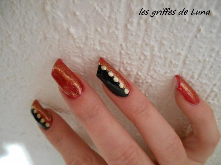 Nail art Réveillon 2 4