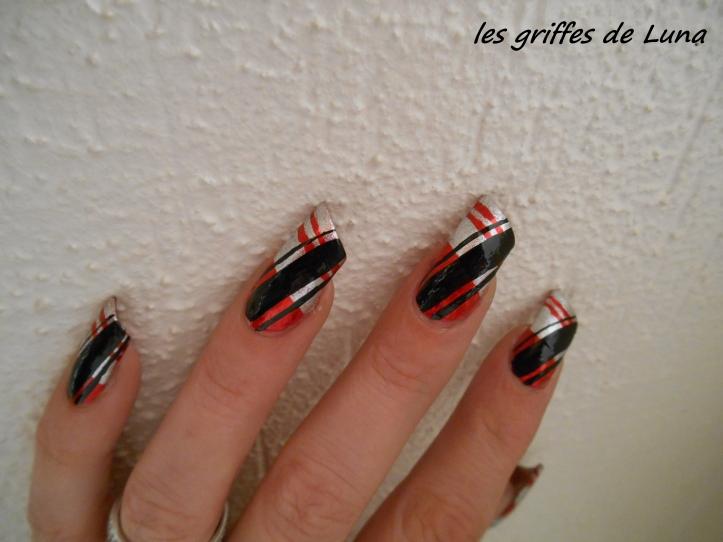 Nail art Réveillon 2014 4