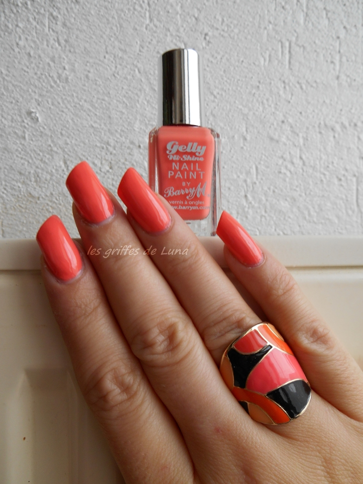 BARRY M - gelly - Papaya 1