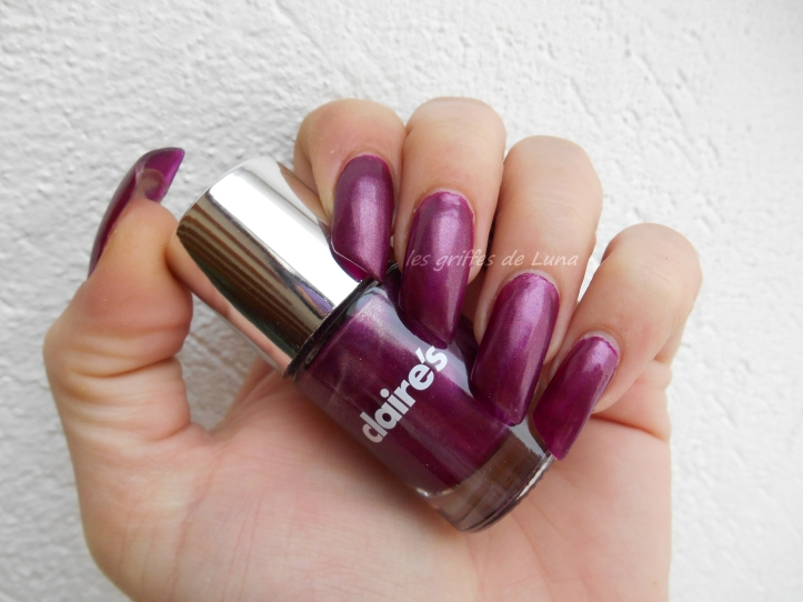 CLAIRE'S Metallic Dark Berry 1