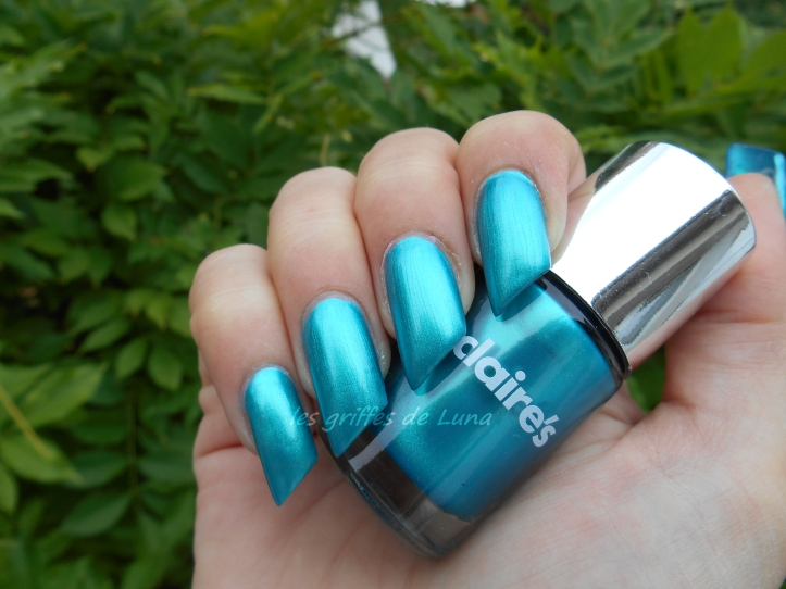 Claire's Metallic teal 2