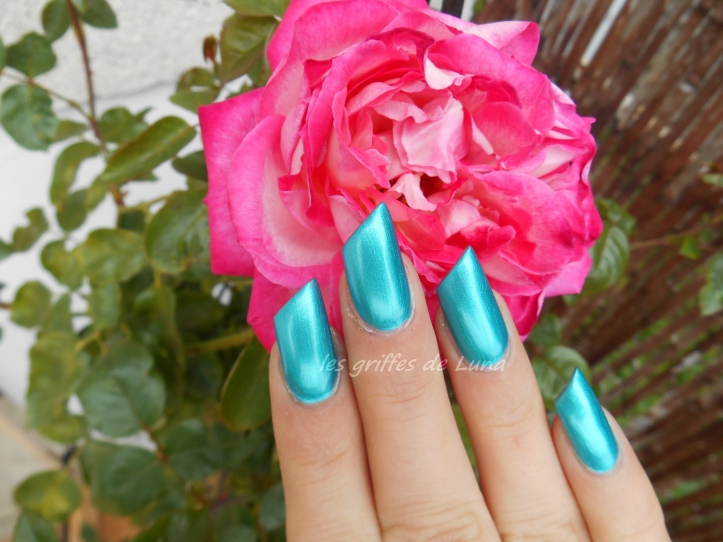 Claire's Metallic teal 4