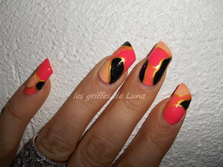 Nail art Comme ma bague 1