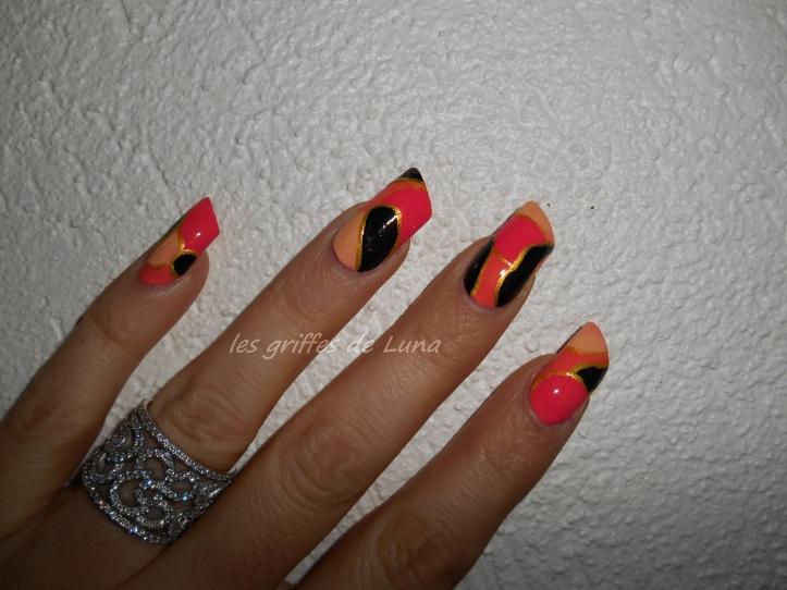 Nail art Comme ma bague 2