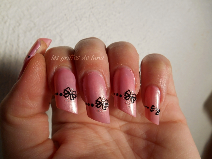 Nail art Romantique by onglesonline 4