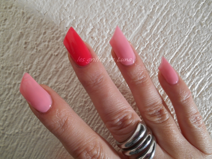 Barry M Strawberry & Astra Strong 1