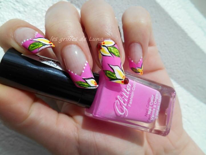 Nail art Printanier 2