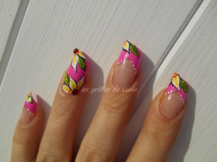 Nail art Printanier 3
