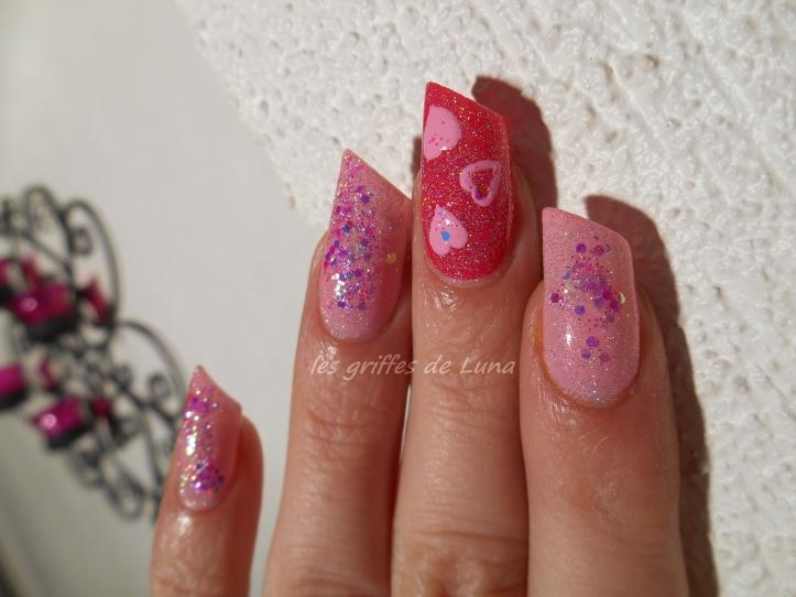 Nail art St Valentin 2
