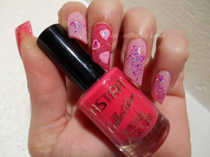 Nail art St Valentin 3