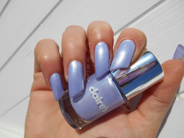 CLAIRE'S Metallic lavender 1