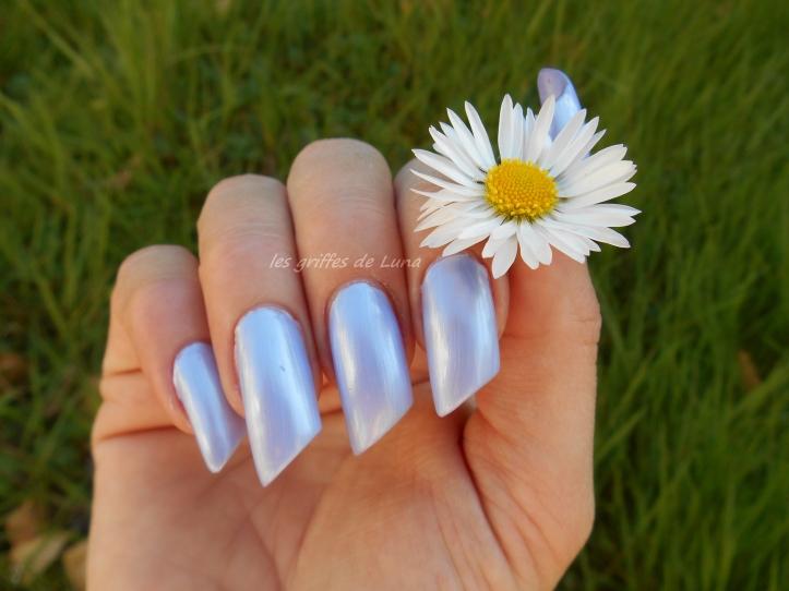 CLAIRE'S Metallic lavender 2