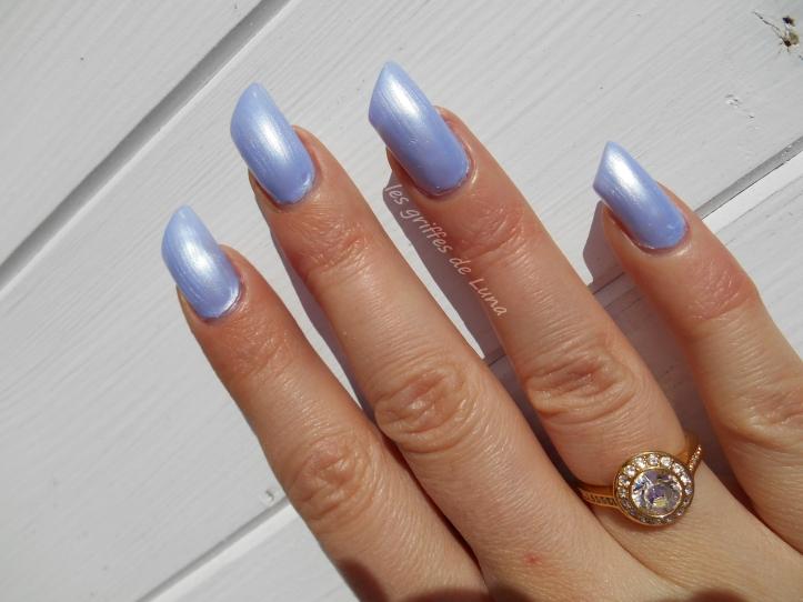 CLAIRE'S Metallic lavender 4
